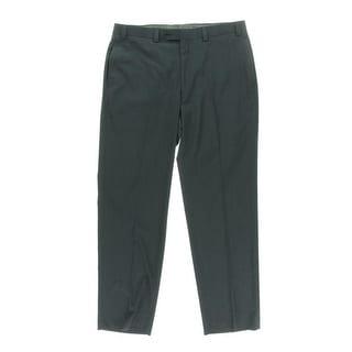 Lauren Ralph Lauren Mens Pindot Straight Leg Dress Pants