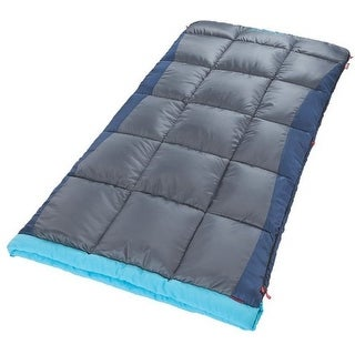 "Coleman 2000018518 Heaton Peak Big & Tall Sleeping Bag, 39"" x 81"""