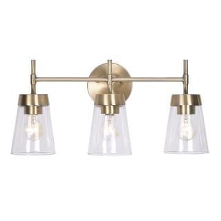 "Link to Wynn 10-inch 3 Light Vanity - 12"" Similar Items in Bathroom Vanity Lights"