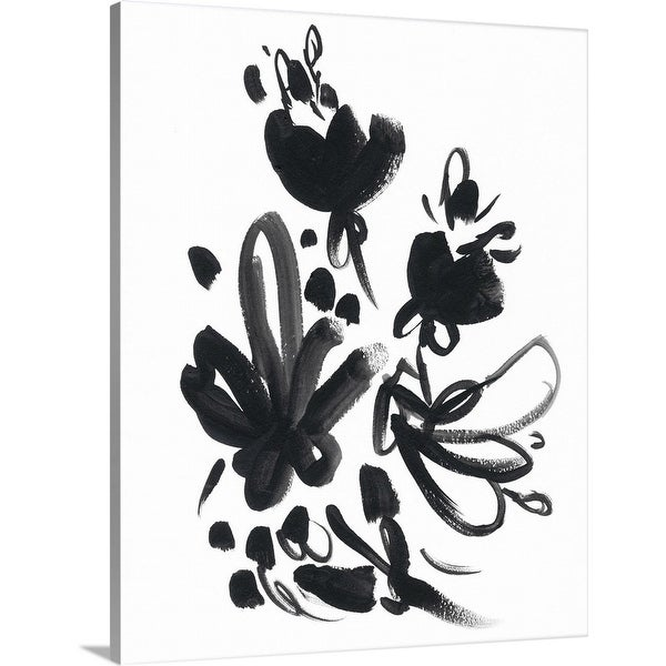June Vess Solid-Faced Canvas Print entitled Cameo Bloom II