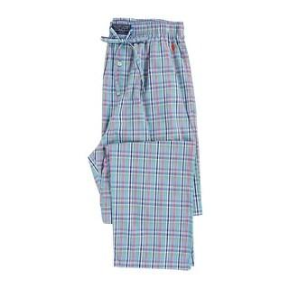 Polo Ralph Lauren Men's 100% Cotton Sleep Pajama Pants (Multi, S) - multi - S
