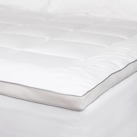 Cozy Classics Powernap Celliant Fiber Blend Mattress Pad