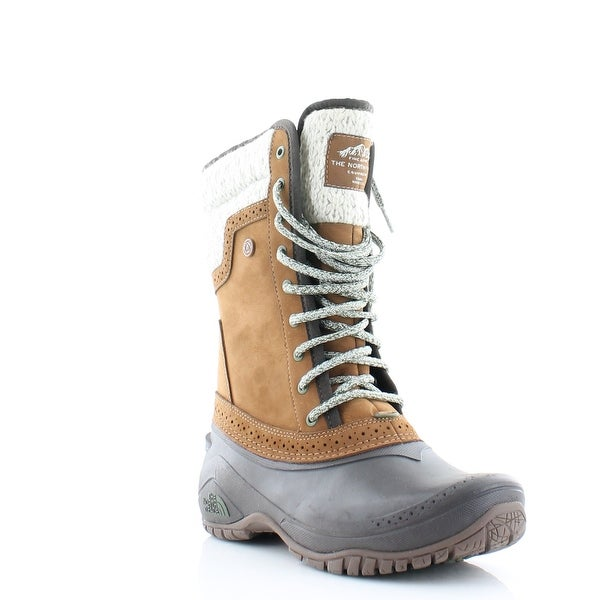 North Face Shellista Boot Women's Boots Dachshund Brown/ Demitasse Brown - 5