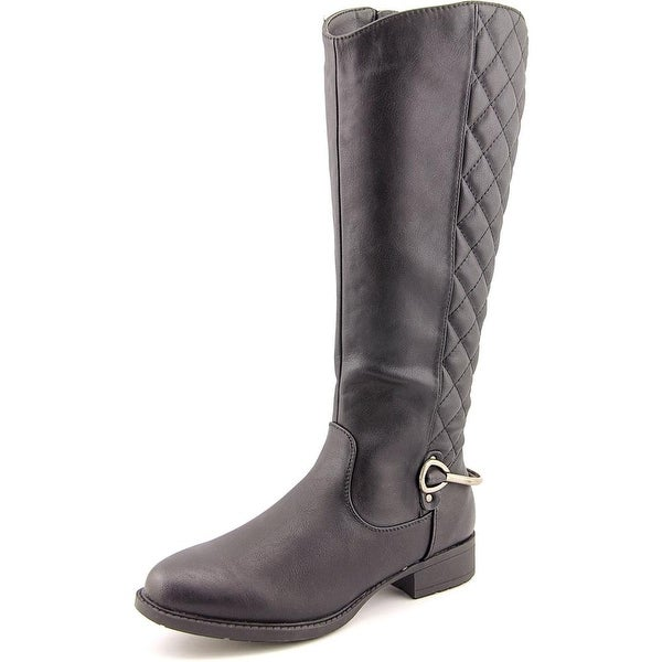 Patrizia By Spring Step Zibal Women Round Toe Synthetic Knee High Boot
