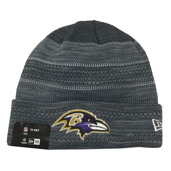 the best attitude 7265e 611ae ... discount shop new era baltimore ravens touchdown knit beanie cap hat nfl  2017 otc 11460469 free