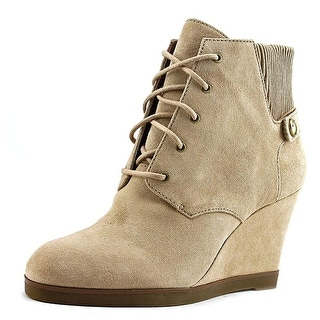 MICHAEL Michael Kors Womens Carrigan Wedge Closed Toe Ankle Fashion Boots Fas...