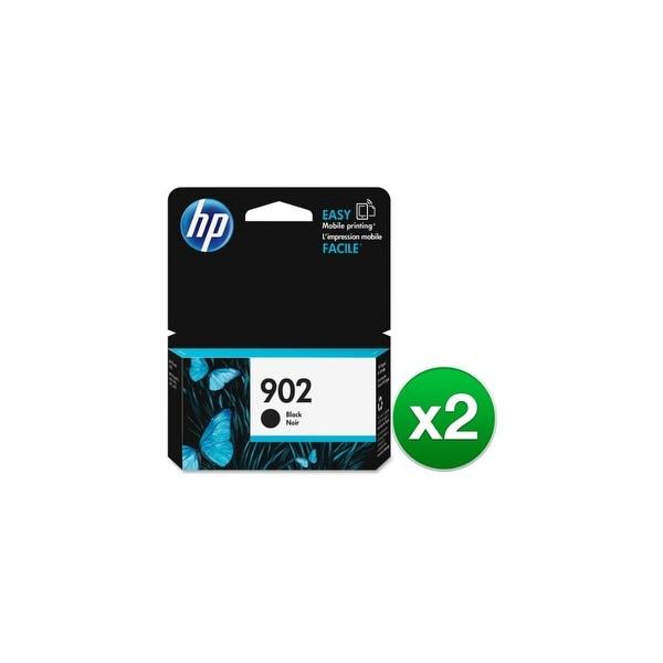 HP 902 High Yield Black Original Ink Cartridge (T6L98AN) (2-Pack)