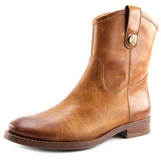 Vince Camuto Payatt Women Round Toe Leather Brown Ankle Boot