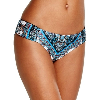 Lucky Brand Womens Printed Hipster Swim Bottom Separates