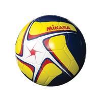 Mikasa SCE Series Size 5 Soccer Ball, White/Yellow/Navy