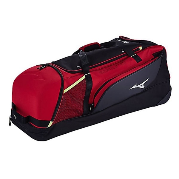 Shop Mizuno Samurai Catcher S Wheeled Duffle Bag Baseball