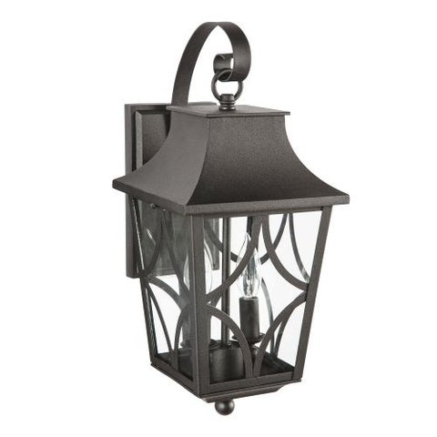 "Park Harbor PHEL1401 Altimeter 8"" Wide 2 Light Outdoor Wall Sconce"