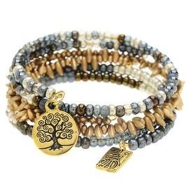 Gold Harmony Bangle Trio - Exclusive Beadaholique Jewelry Kit