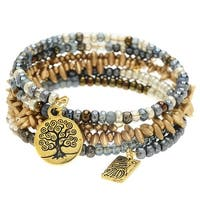 Gold Harmony Bangle Trio - Exclusive Beadaholique Jewelry Kit
