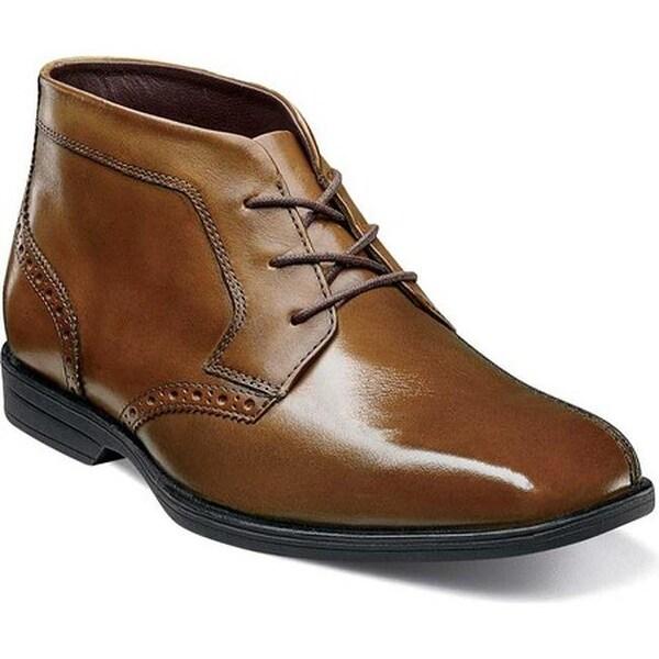 66c5ace44ba Shop Florsheim Boys' Reveal Chukka Boot Jr. Cognac Leather - Free ...