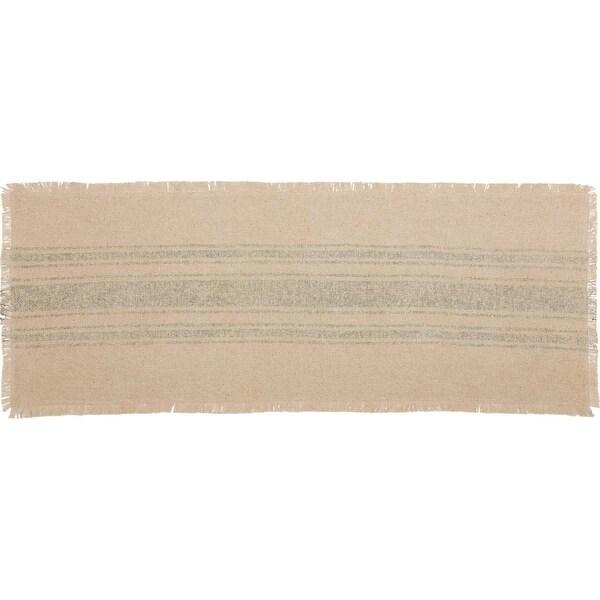 Shop Vintage Burlap Stripe Runner - 19480408