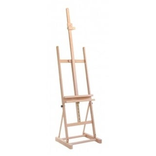 Cappelletto CCS100 Studio Easel with Utility Shelf - Wood