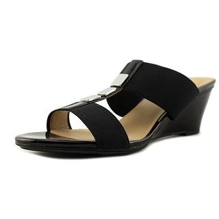Naturalizer Hayden   Open Toe Synthetic  Wedge Sandal