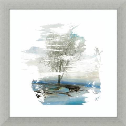 Moonlight Kingdom (Tree) by PI Gallerie Framed Wall Art Print