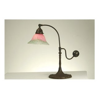 Meyda Tiffany 102407 Tiffany Single Light Counter Balance Desk Lamp