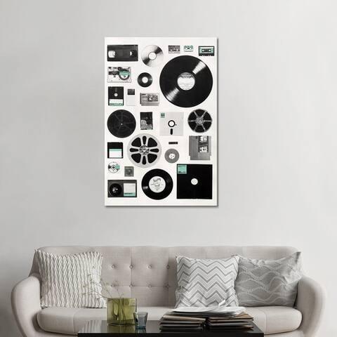 "iCanvas ""Data"" by Florent Bodart Canvas Print"