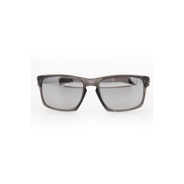 Shop Oakley Men s Sunglasses In Gray Smoke And Chrome - Grey Smoke ... 83ef8d2216