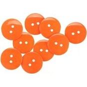 """Orange 7/8"""" - Large Color Buttons 8/Pkg"""