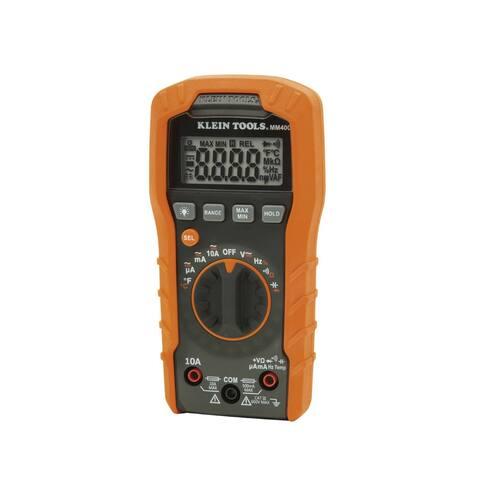 Klein Tools MM400 Auto-Ranging Digital Multimeter, 600V