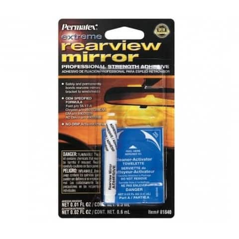Permatex 81840 Extreme Rearview Mirror Professional Strength Adhesive