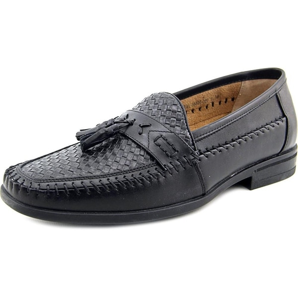 Nunn Bush Strafford Woven Men Round Toe Leather Loafer
