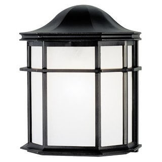 "Westinghouse 66898 Single Light Outdoor Wall Lantern, A19, 4-1/2"" Extends"