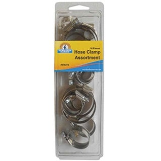 Handi-Man Stainless Steel Hose Clamp Kit -16 Pieces