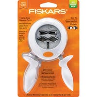"""Fiskars Squeeze Punch X-Large-Bow Tie, 2"""""""