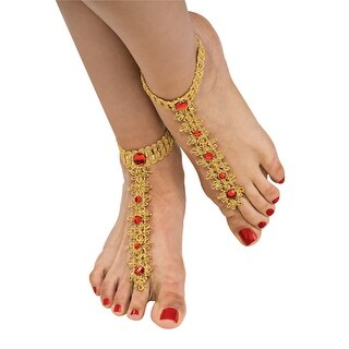 Womens Bollywood Foot Decorations