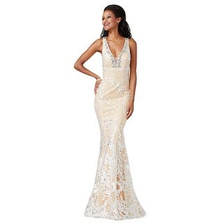 JVN by Jovani Womens Formal Dress Embroidered Embellished (Option: 2)|https://ak1.ostkcdn.com/images/products/is/images/direct/67b3ae4af2bcb398b719a828600c5dd43832e038/JVN-by-Jovani-Womens-Embroidered-Embellished-Formal-Dress.jpg?impolicy=medium