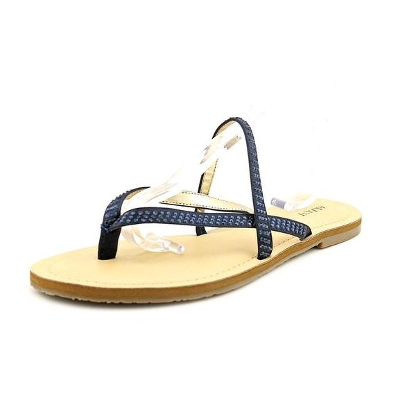 Alfani Pirsey Womens Ink Sandals