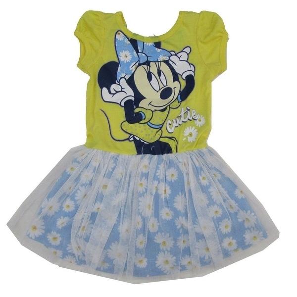 a306e837d69bf Disney Little Girls Yellow Blue Minnie