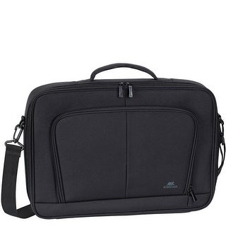 Rivacase 8451BKCS 17.3 in. Full Size Laptop Clamshell Case, Black