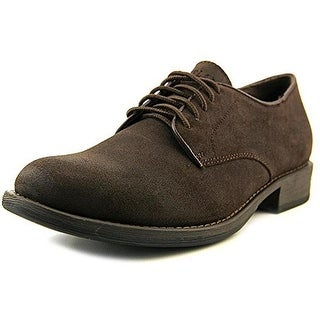 Eastland Mens Perry Leather Distressed Oxfords
