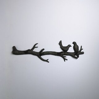 "Cyan Design 1868 9.5"" Bird Branch Coat Hook"