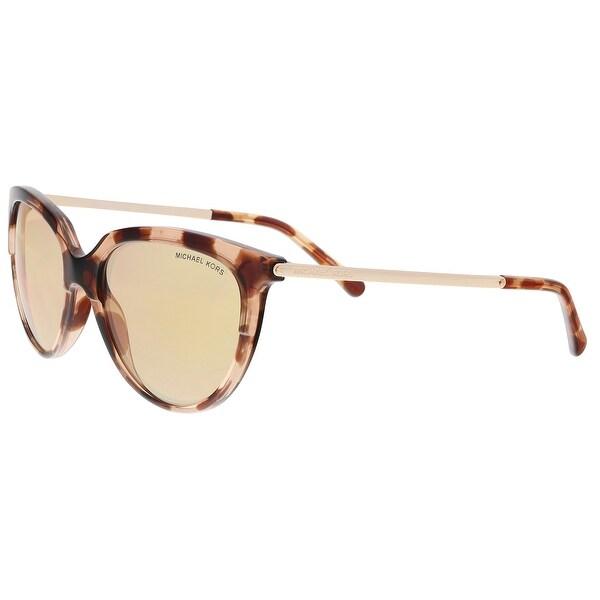 Shop Michael Kors MK2051 3162R1 Pink Tortoise Cat Eye