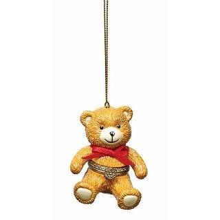 Christmas Decoration - Porcelain Surprise Ornaments Box - Teddy Bear