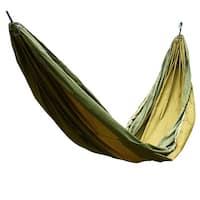 Konoo Authorized Courtyard Nylon Swing Sleeping Bed Double Hammock Olive Green