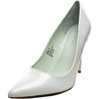 Madden Girl Ohnice Women Pointed Toe Synthetic White Heels