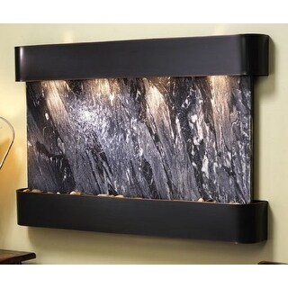 Adagio Sunrise Springs With Black Spider Marble in Blackened Copper Finish and R