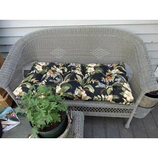 Shop Blazing Needles 42 Inch Indooroutdoor Bench Cushion On Sale