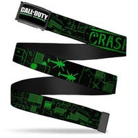 Call Of Duty Modern Warfare Fcg Black White Greens  Chrome Call Of Duty Web Belt