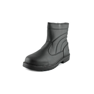 Totes Suburb Men  Round Toe Synthetic Black Winter Boot