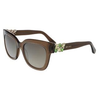 Jimmy Choo JMC MAGGIE/S 0A2K Trans Brown Square Sunglasses
