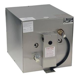 Whale Seaward 11 Gal Water Heater Stainless Steel Hot Heater W/Rear Heat Exchager Stainless Steel Exterior